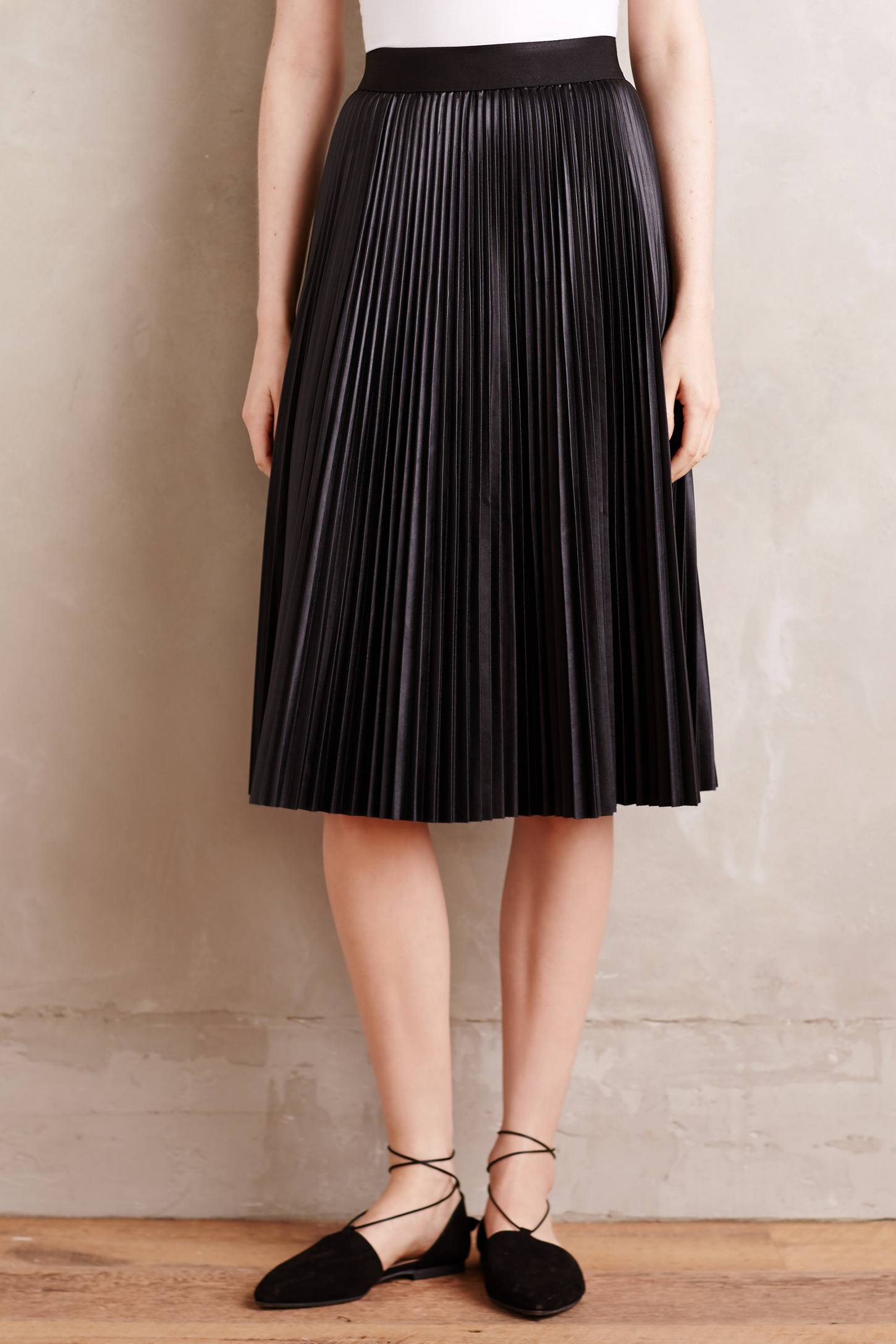 Pleated Neda Skirt