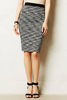 Heathered Pencil Skirt