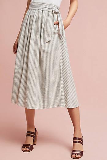 Trovata Wrap Midi Skirt