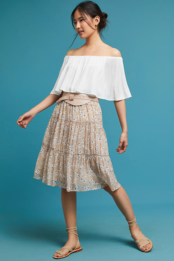 Fields Tiered Skirt