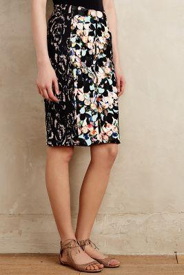Paillette Pencil Skirt