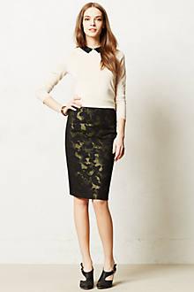 Camo Pencil Skirt