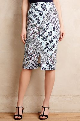 Gardenpatch Pencil Skirt