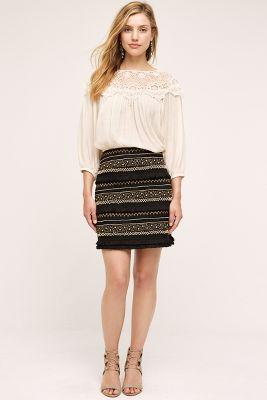 La Fringe Skirt