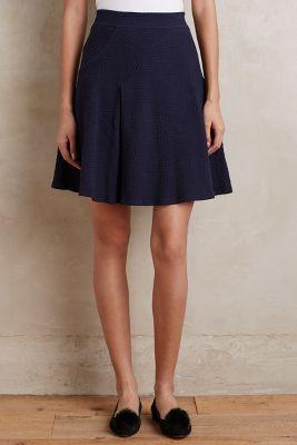 Paneled Pleats Skirt