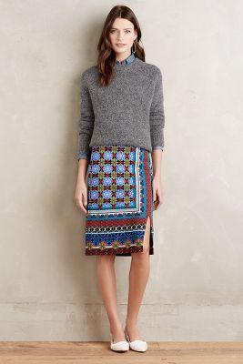 Tearoom Pencil Skirt