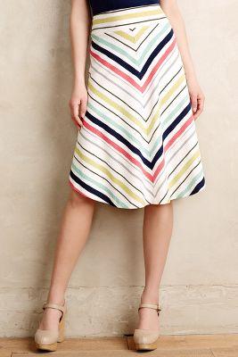 Springstripe Skirt