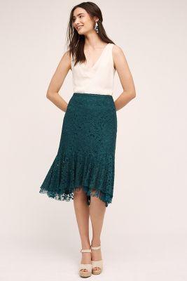 Ruffled Lace Skirt