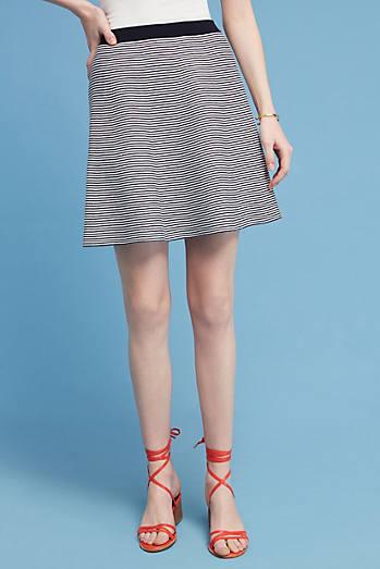 Maura Striped Mini Skirt