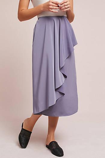 Cascade Ruffled Skirt