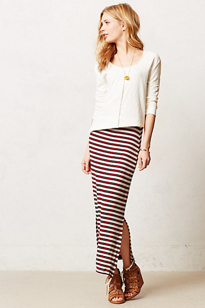 Sale alerts for Anthropologie Delaney Maxi Skirt - Covvet