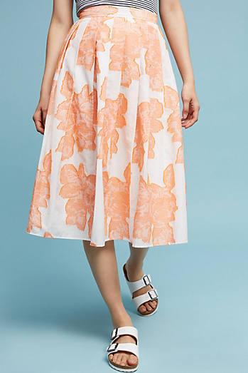 Sunrise Floral Skirt