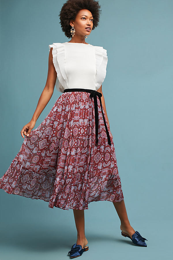 Virgo Chiffon Skirt