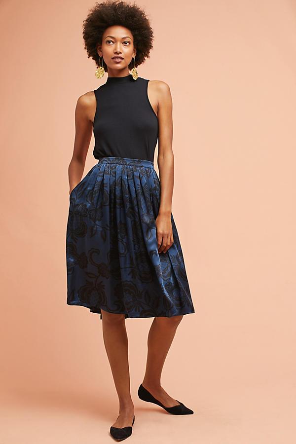 Molly Silk Skirt