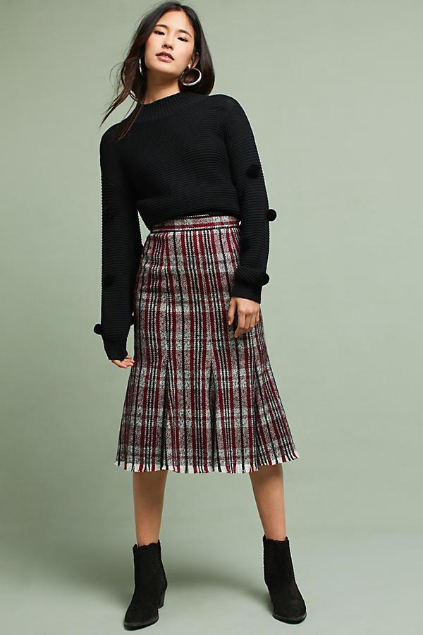 Zephyr Plaid Skirt