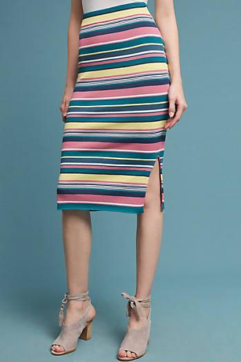 Iana Striped Skirt