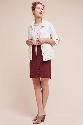 Fringed Arnhem Sweater Skirt
