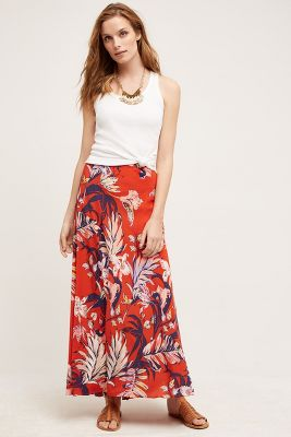 Paso Robles Silk Skirt