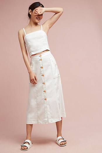 Riverine Midi Skirt