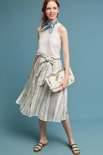 Sun-Striped Skirt