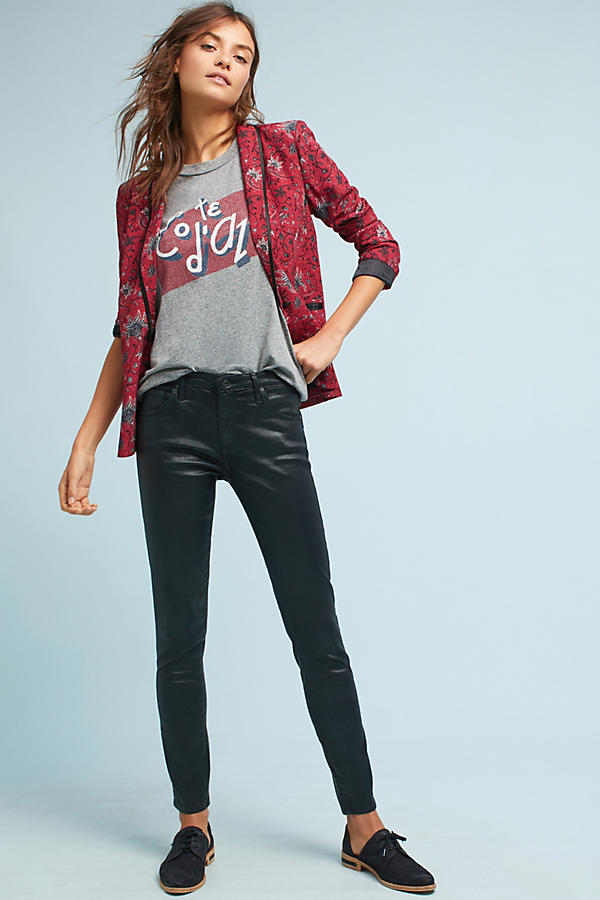 AG The Legging Low-Rise Skinny Jeans