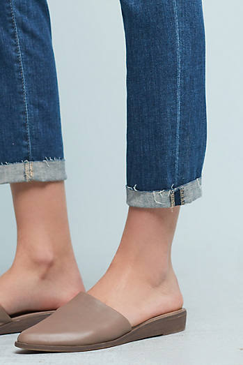 AG The Beau Mid-Rise Slouchy Skinny Cropped Jeans