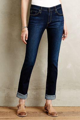 AG Harper Straight-Leg Jeans