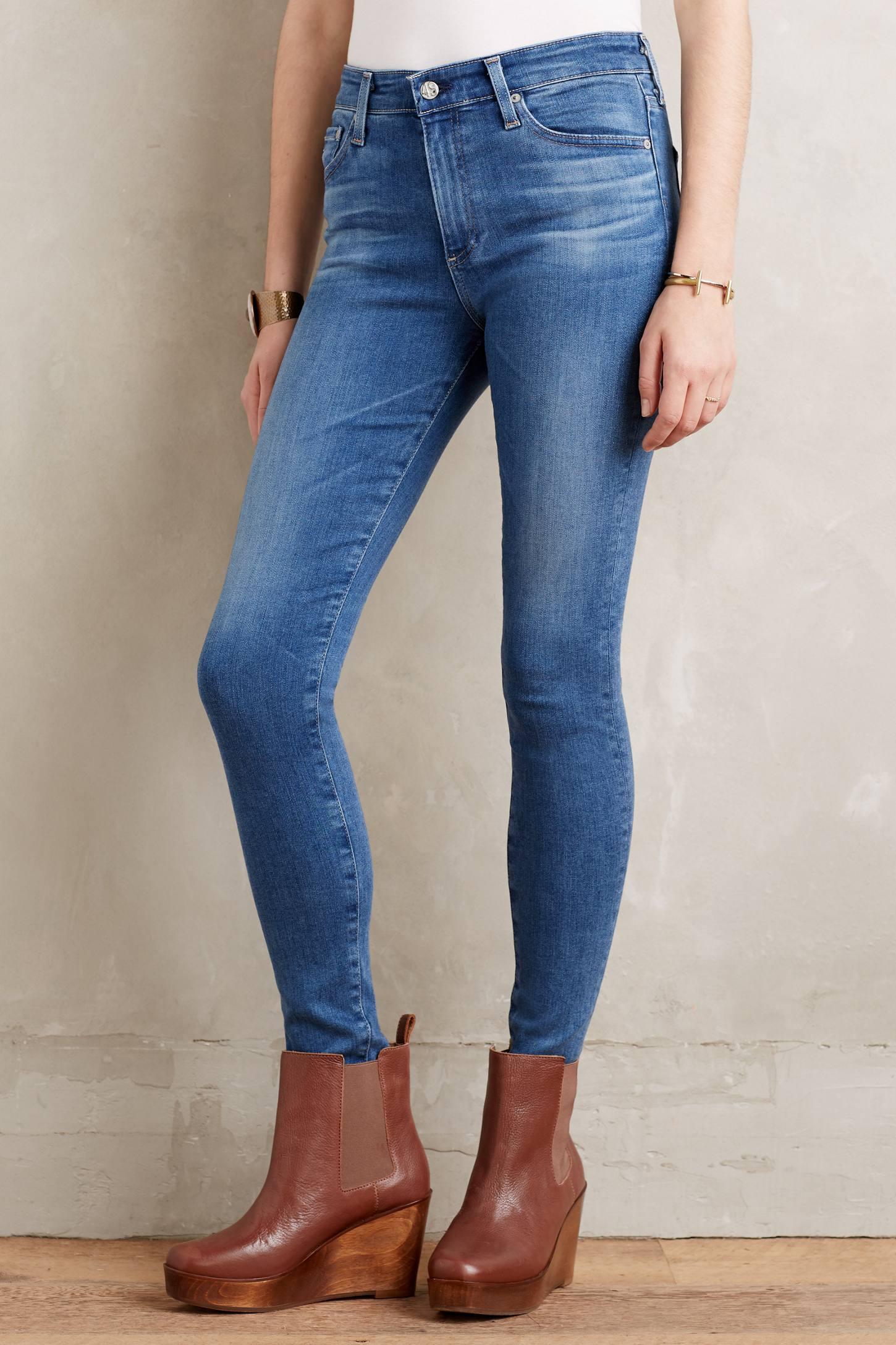 AG Farrah High-Rise Jeans