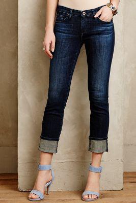 AG Stevie Cuffed Jeans