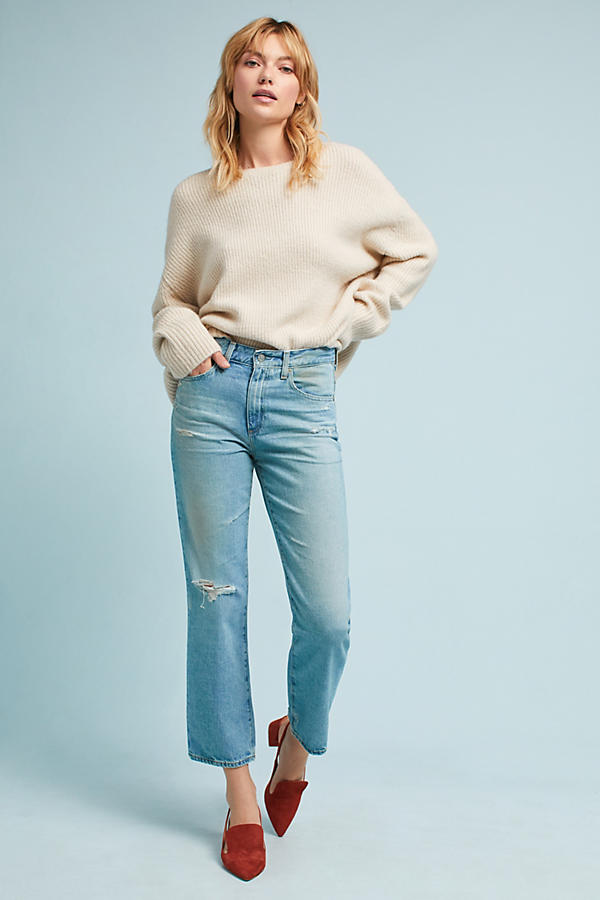 AG The Rhett Crop Ultra High-Rise Jeans
