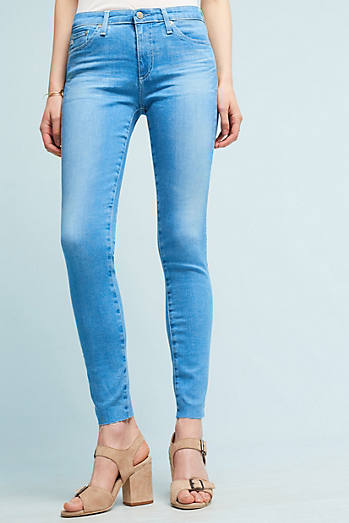 AG The Middi Mid-Rise Skinny Ankle Jeans