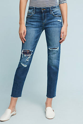 Joe's Smith Mid-Rise Ankle Jeans