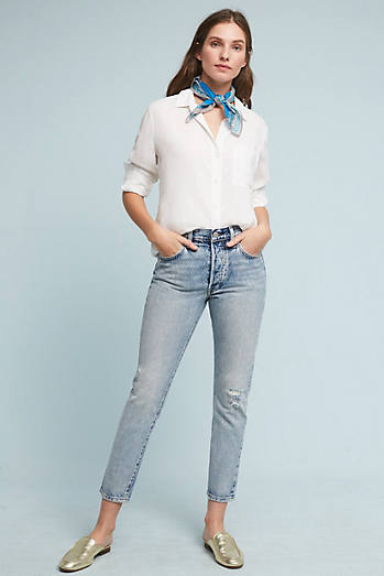 Levi's 501 Mid-Rise Straight Jeans