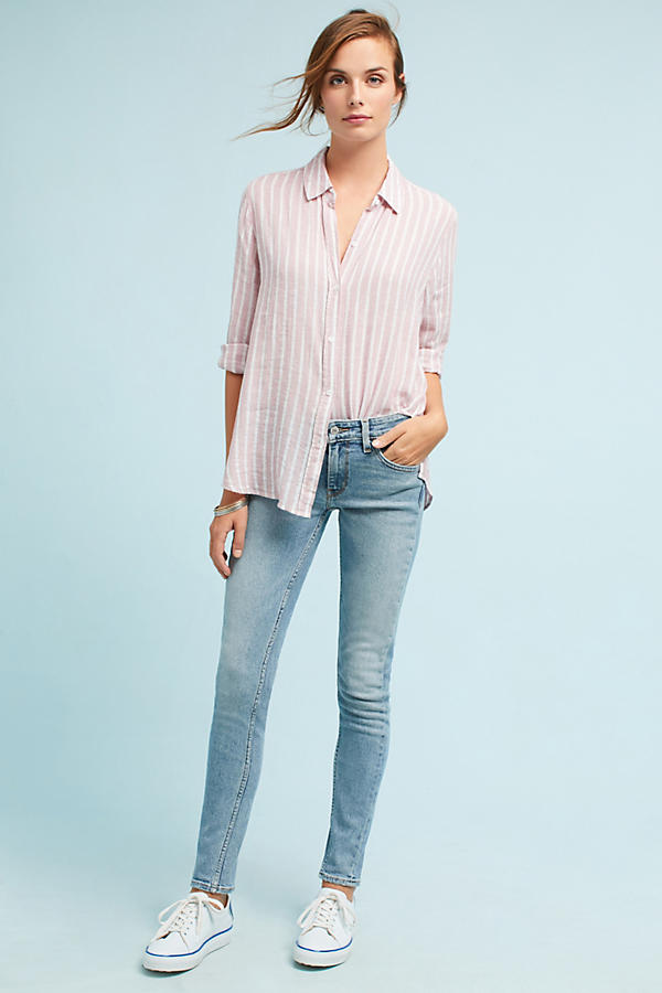 Levi's 711 Skinny Altered Mid-Rise Jeans