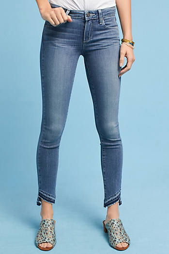Paige Verdugo Mid-Rise Ultra-Skinny Ankle Jeans