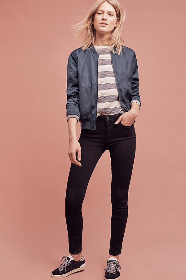 Paige Hoxton High-Rise Ultra-Skinny Jeans