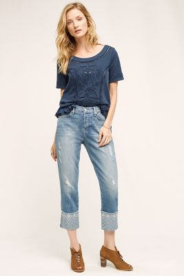 Level 99 Morgan High-Rise Straight Jeans