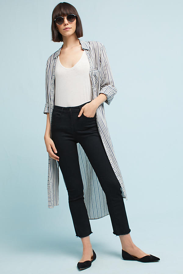 3x1 NYC W25 Crop Mid-Rise Bootcut Jeans