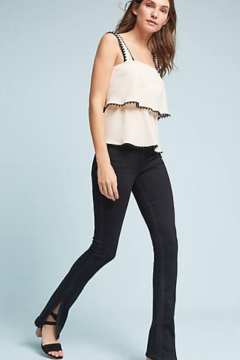 3x1 NYC W2 Split Seam Bell Mid-Rise Slim Jeans