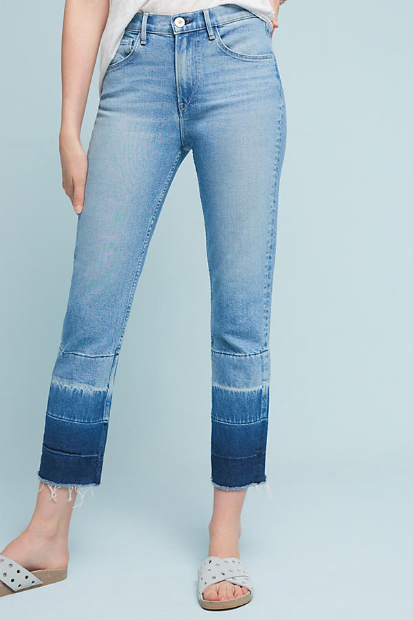 3x1 NYC W4 Shelter Ultra High-Rise Straight Cropped Jeans