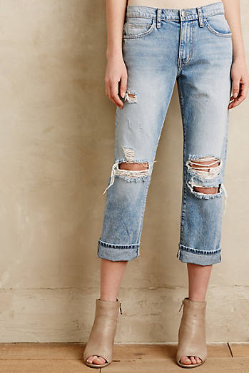 Current/Elliott The Highwaist Straight Jeans
