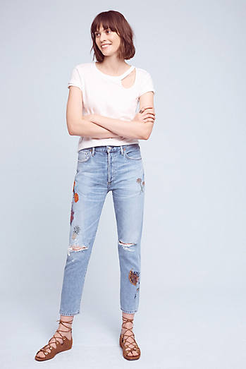 Citizens of Humanity Liya Classic Ultra High-Rise Cropped Jeans