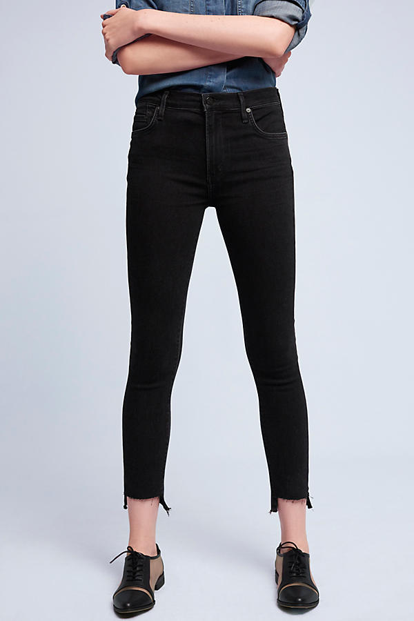 Citizens of Humanity Rocket Hi-Lo Hem High-Rise Skinny Jeans