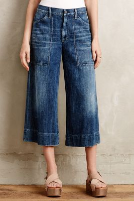 Citizens of Humanity Posie Wide-Leg Crop Jeans
