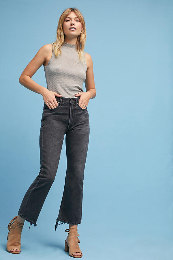 Citizens of Humanity Estella Ultra High-Rise Relaxed Cropped Jeans