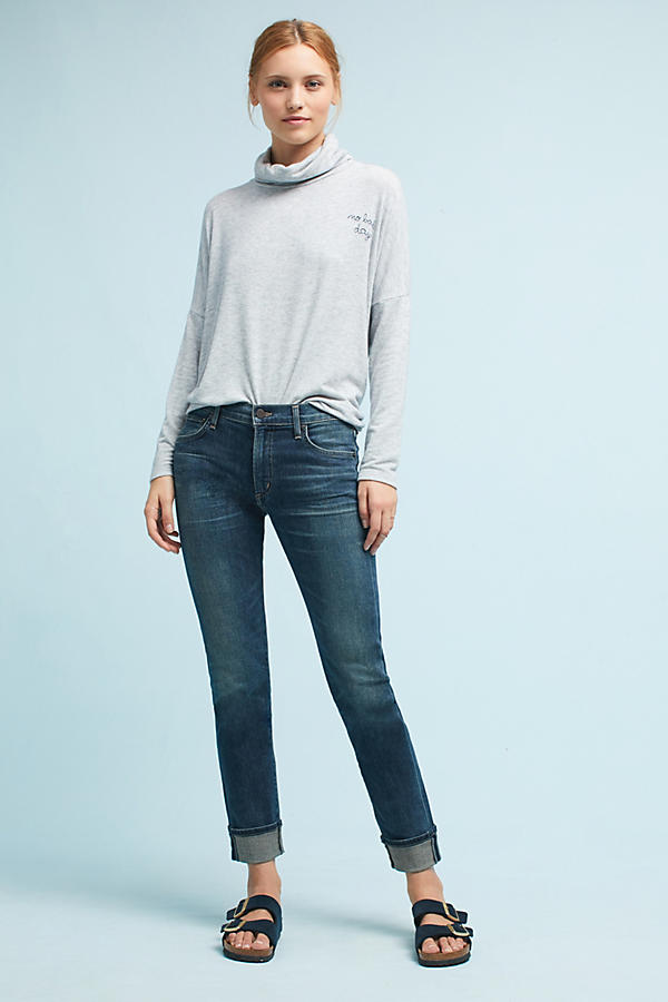Citizens of Humanity Jazmin High-Rise Cropped Jeans