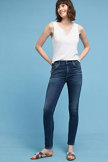 Citizens of Humanity Rocket High-Rise Skinny Petite Jeans