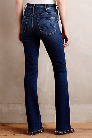 Mother Hustler Fray Jeans