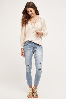 Jean Shop Patty Mid-Rise Skinny Crop Jeans