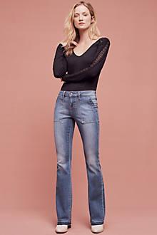 Jean Shop Cheryl Low-Rise Flare Jeans